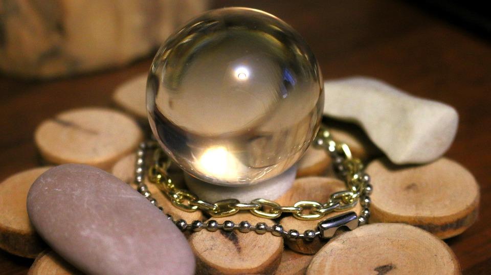 boule de cristal - Divination au carré