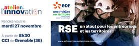 Atelier innovation, EDF, 27 novembre, grenoble